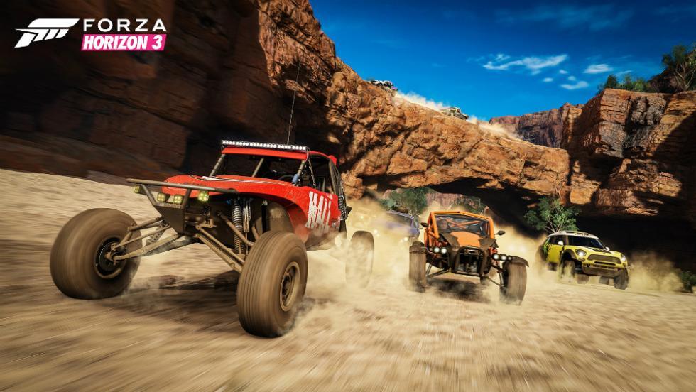 Los mejores juegos de carreras de 2016 - Forza Horizon 3