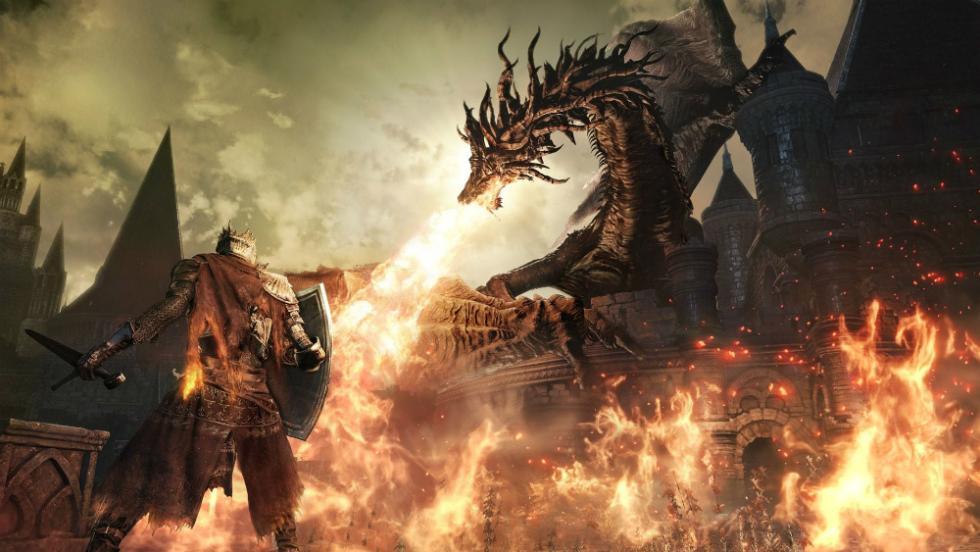 Los mejores juegos de Xbox One de 2016 - Dark Souls 3