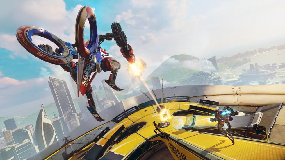 Los mejores juegos de PlayStation VR de 2016 - RIGS Mechanized Combat League