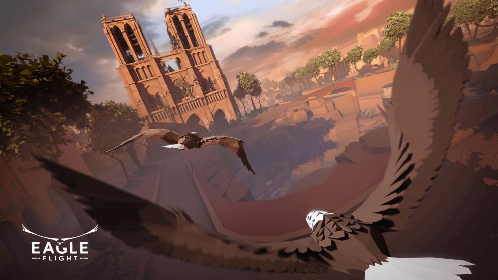 Los mejores juegos de PlayStation VR de 2016 - Eagle Flight