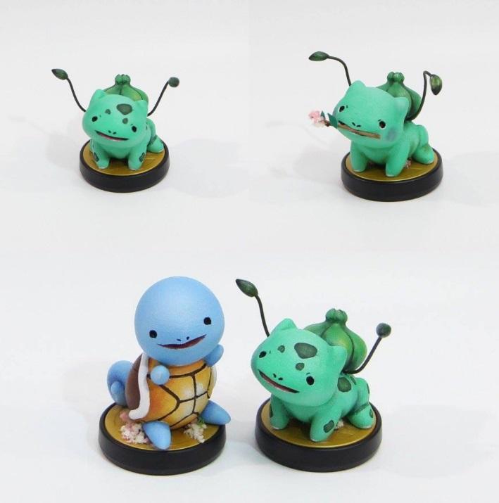Amiibo de Pokémon creado por AkShopo8