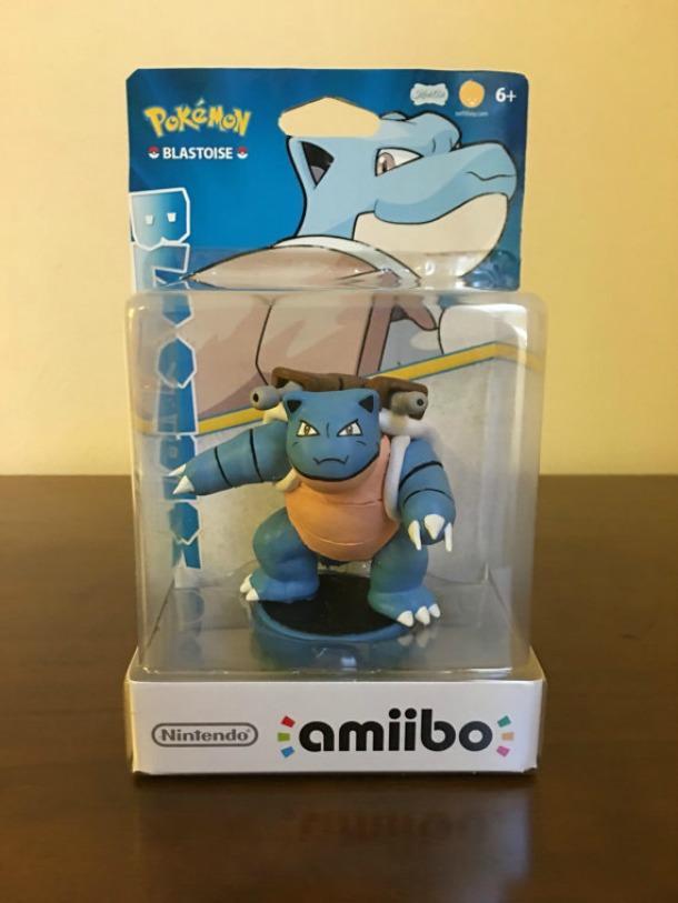 Amiibo de Pokémon creado por Kiick_Ash