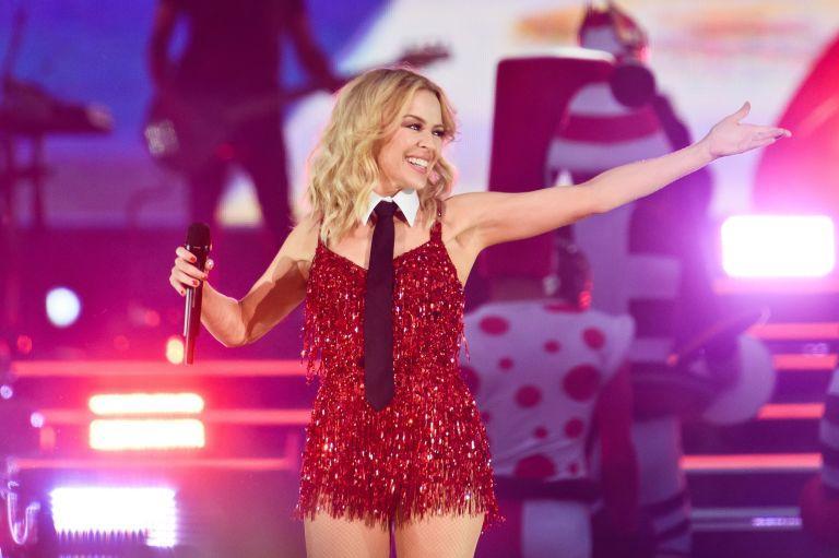 Así está ahora Kylie Minogue
