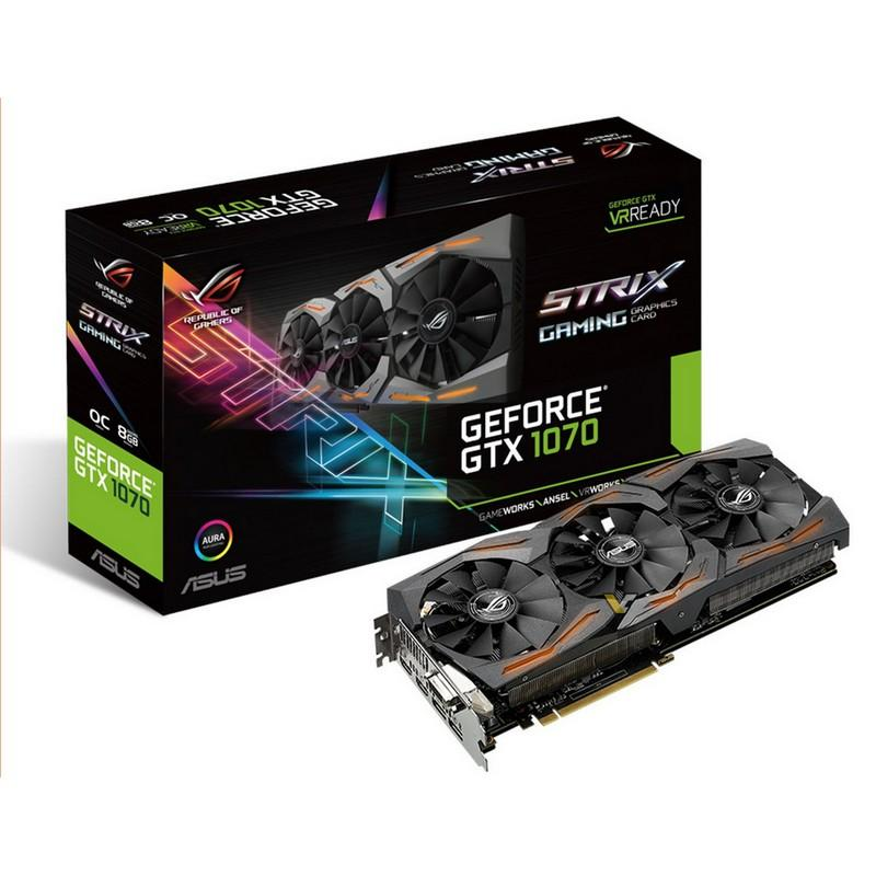 Asus ROG Stryx Geforce GTX 1070 OC Gaming 8 GB