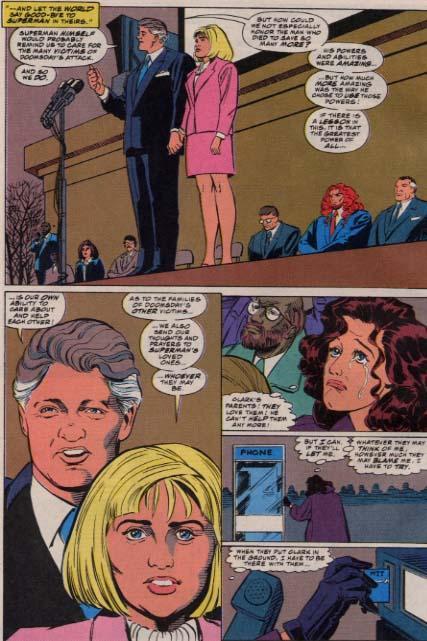 Bill Clinton cómic