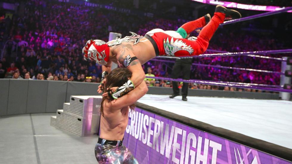 Brian Kendrick vs. Kalisto por el Campeonato de Peso Crucero
