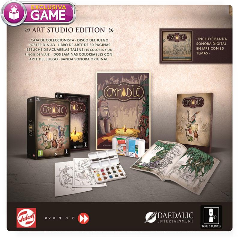 Candle edición exclusiva en GAME
