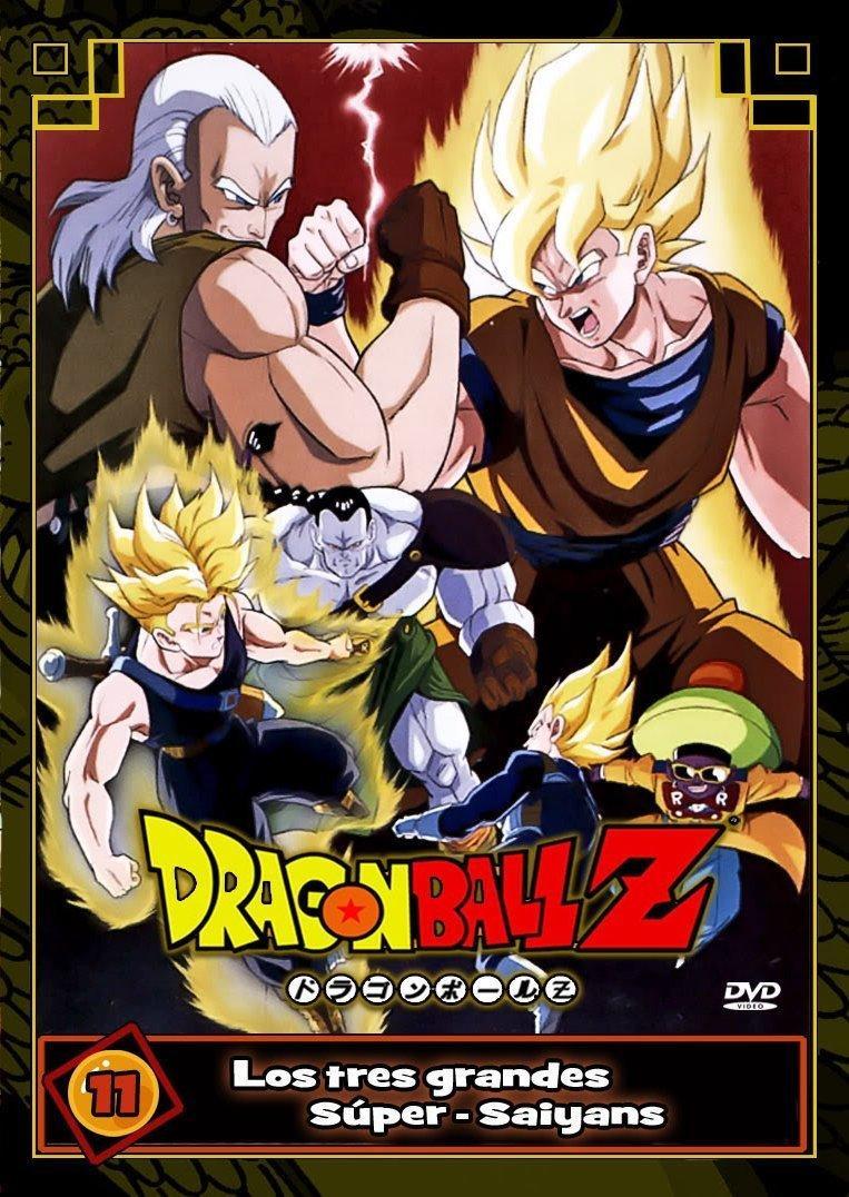 Dragon Ball Z: Los tres Grandes Super Saiyans