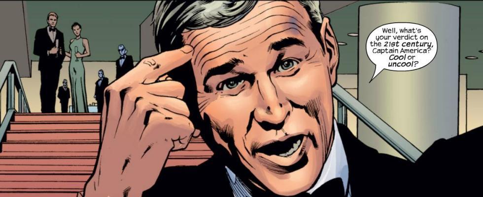 George W. Bush cómic