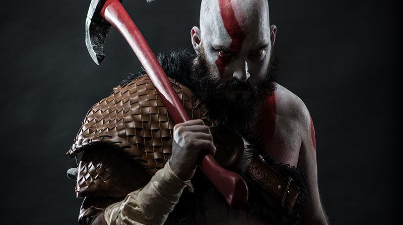 God of War para PS4 - Kratos Cosplay