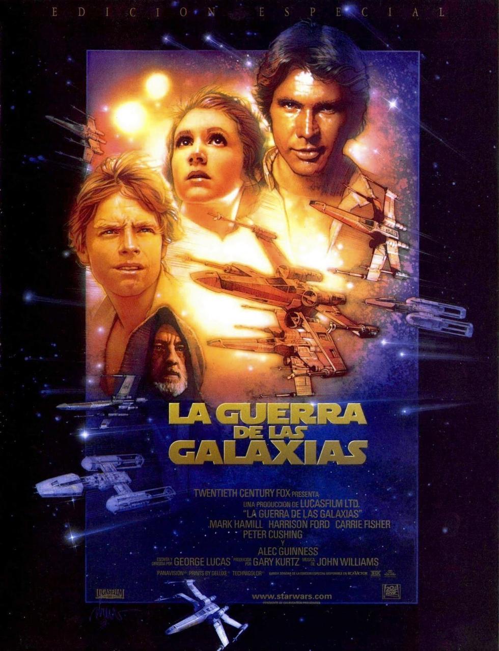 Star Wars La Guerra De Las Galaxias Episodio Iv Una