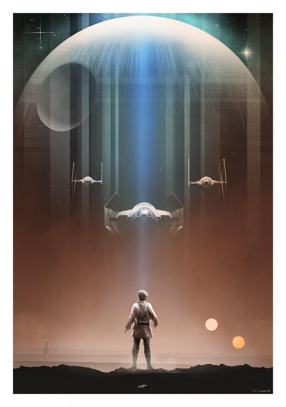 Carteles Star Wars, Fan-art star wars, póster star wars
