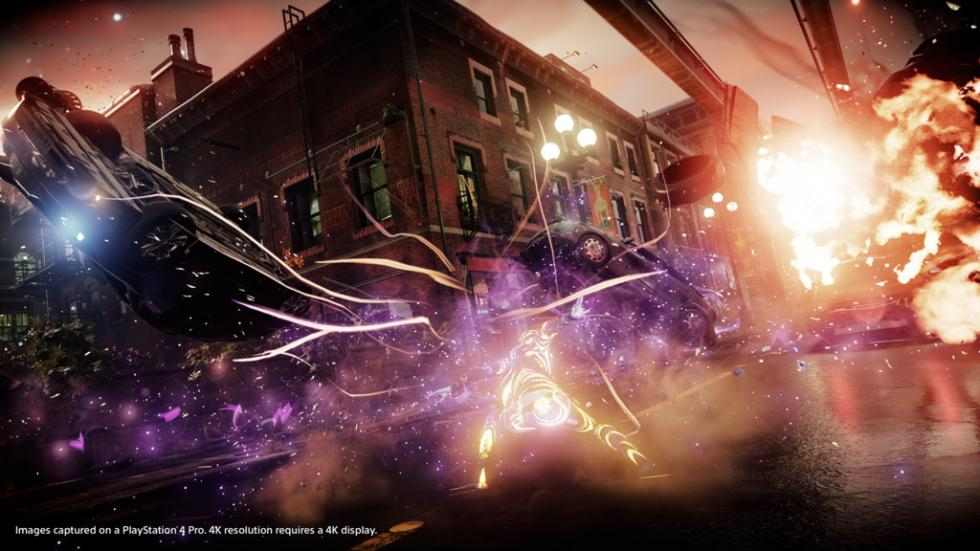 InFamous Second Son y First Light - Imágenes PS4 Pro