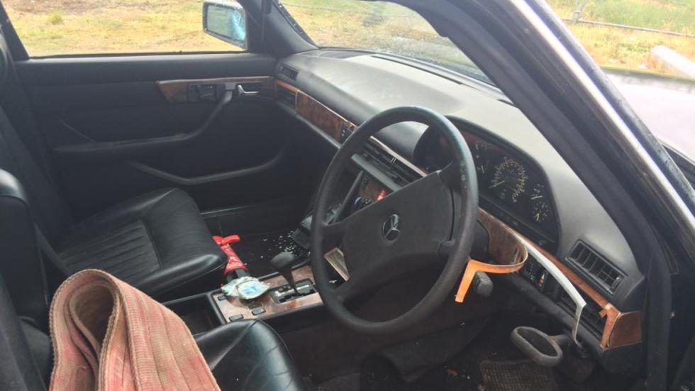 Interior del Mercedes 420 SEL de Freddie Mercury