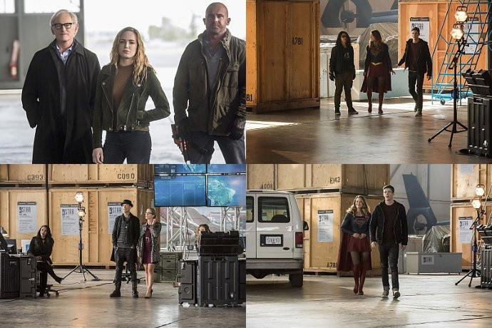 Invasion - Primer episodio del mega-crossover: Arrow, Supergirl, Flash y Legends of Tomorrow
