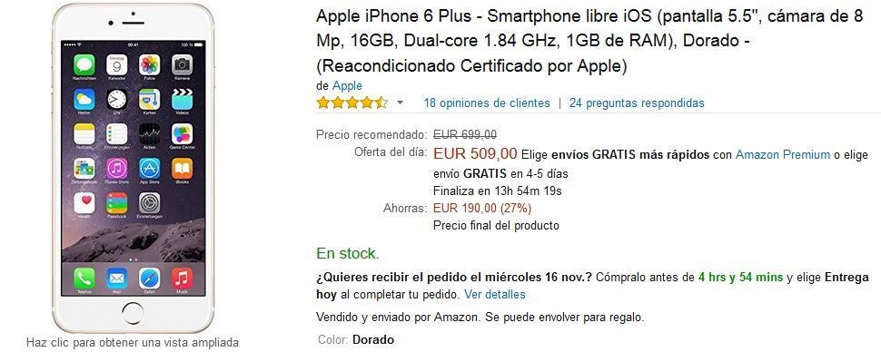 Ofertas Iphone  Plus Black Friday