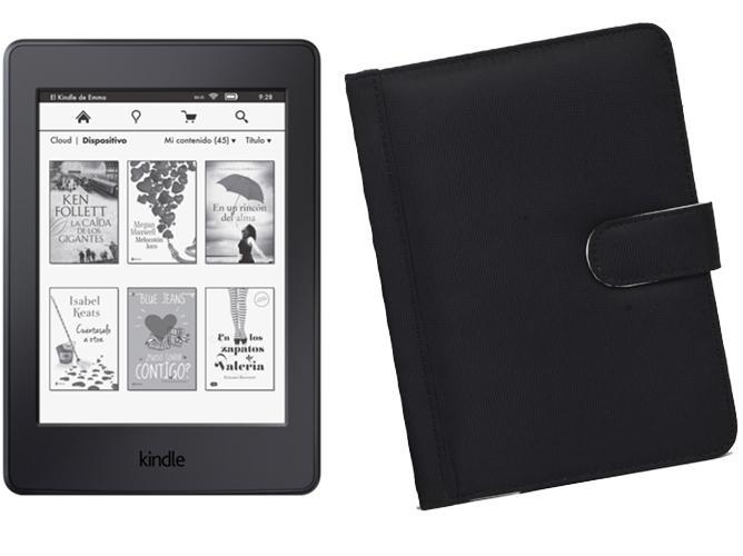 Kindle Paperwhite 4 GB + Funda Negra