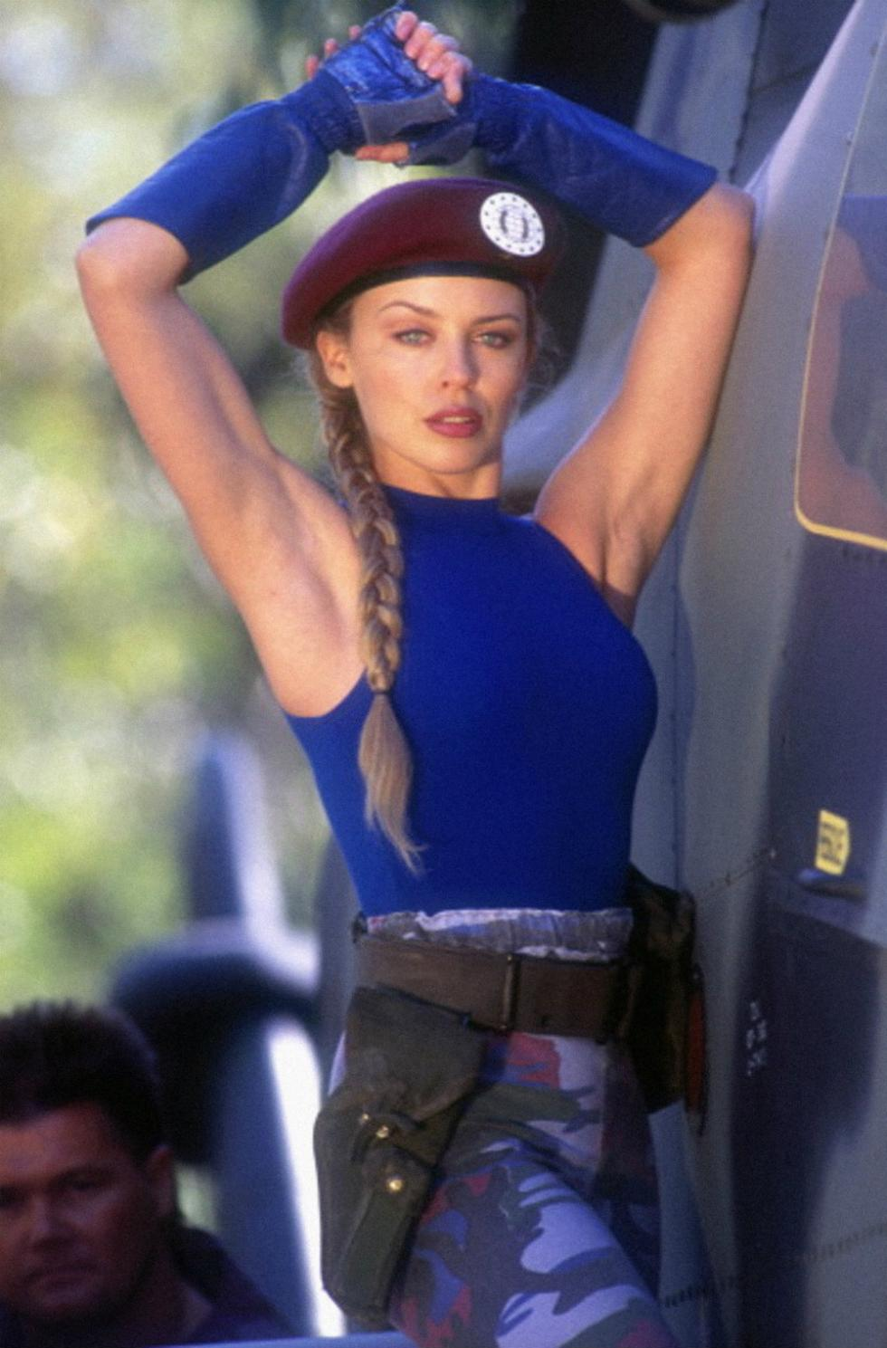 Kylie Minogue era Cammy en Street Fighter