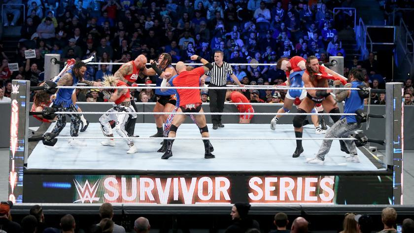 Lucha Eliminatoria de Dúos Tradicional - Raw vs. SmackDown