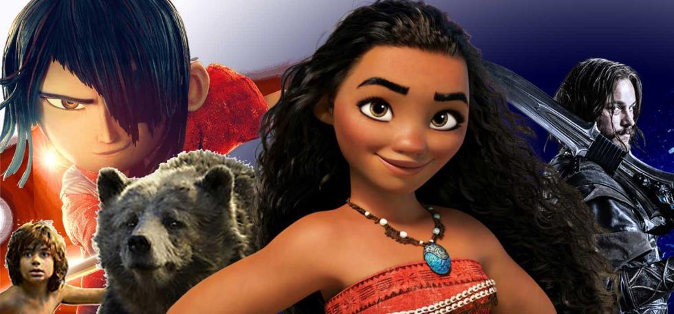 Las mejores películas de aventuras de 2016: Vaiana, Warcraft...