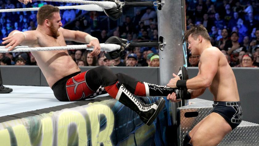 The Miz vs. Sami Zayn por el Campeonato Intercontinental