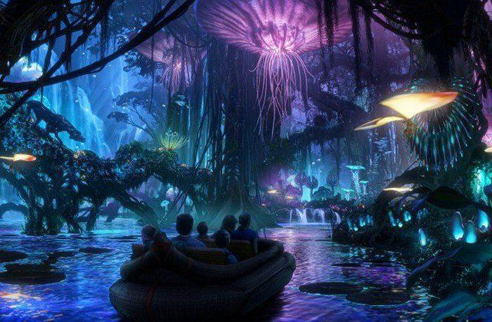 Pandora: El mundo de Avatar - Parque temático