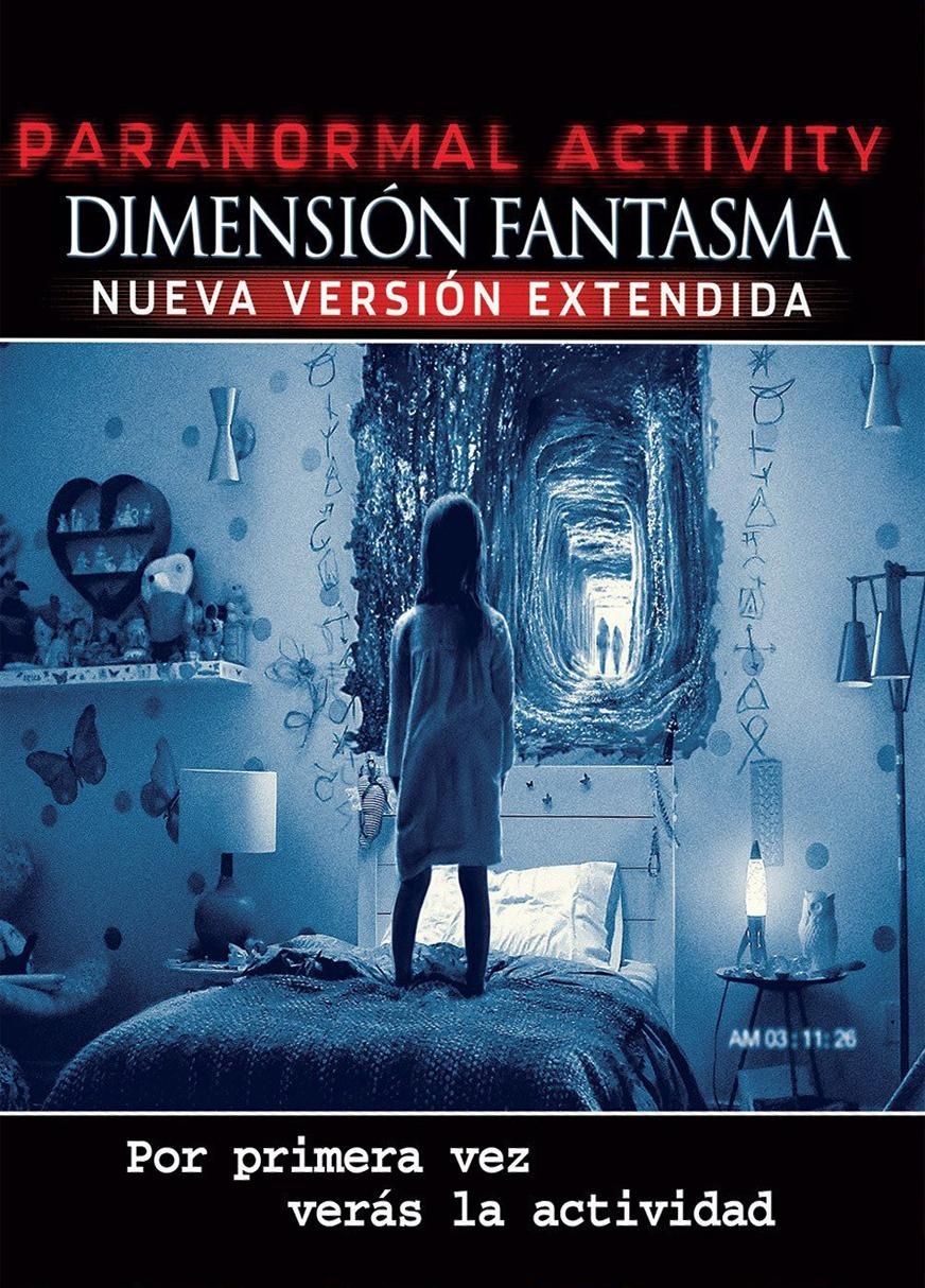 Paranormal Activity: Dimensión fantasma