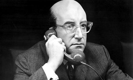 Peter Sellers en ¿Teléfono Rojo? Volamos hacia Moscú