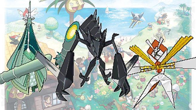 Pokémon Sol y Luna - Nuevo Pokémon Legendario y Ultra Bestias