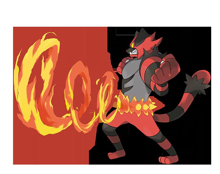 Pokémon Sol y Pokémon Luna - Incineroar