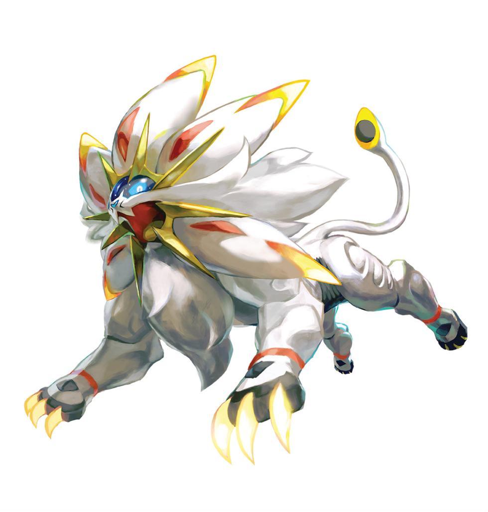 Pokémon Sol y Pokémon Luna - Solgaleo