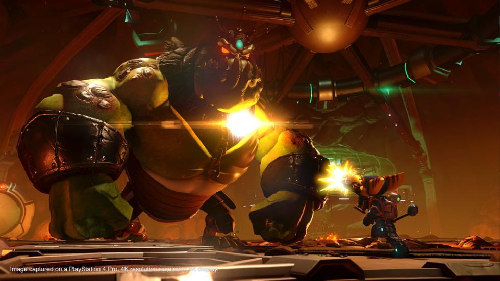 Ratchet & Clank en PS4 Pro