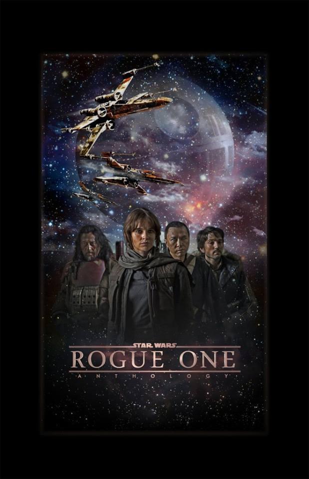 Rogue One: Una historia de Star Wars - posters realizados por diferentes artistas para el Spin-Off de Star Wars