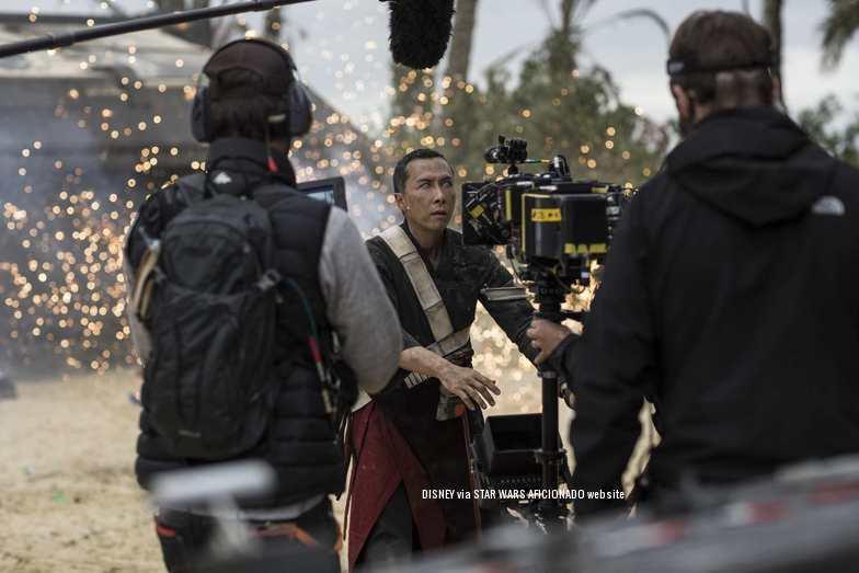 Star Wars Rogue One nuevas imágenes del rodaje de la película.