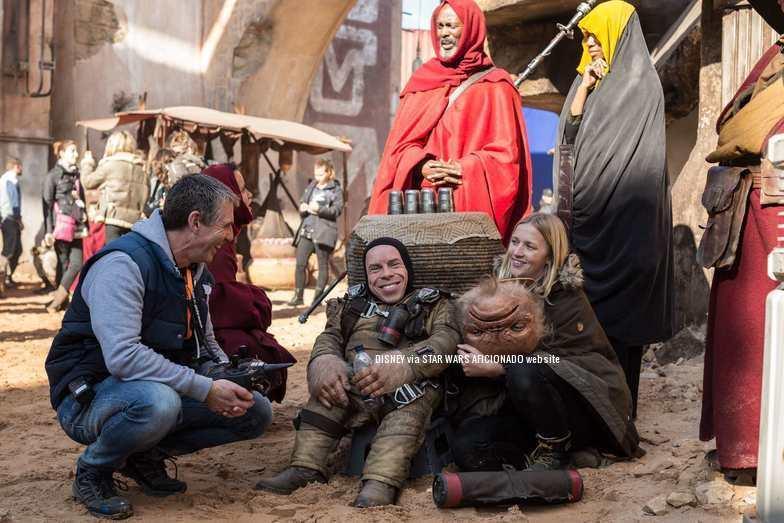 Las nuevas imagenes de rodaje de Rogue One