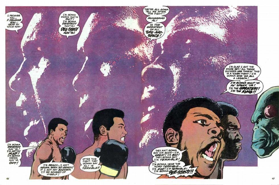 Superman contra Muhammad Ali