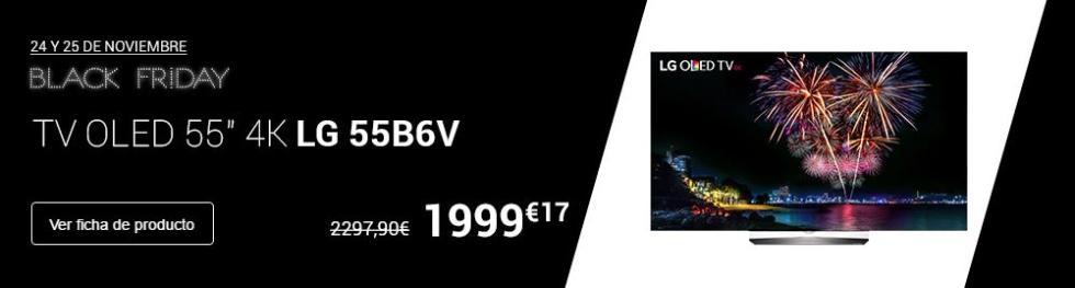 Televisor OLED 4K LG 55B6V
