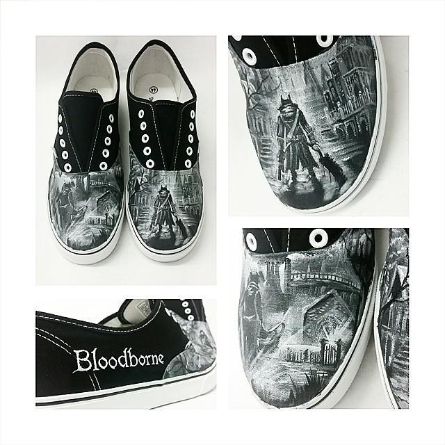 Zapatillas Bloodborne