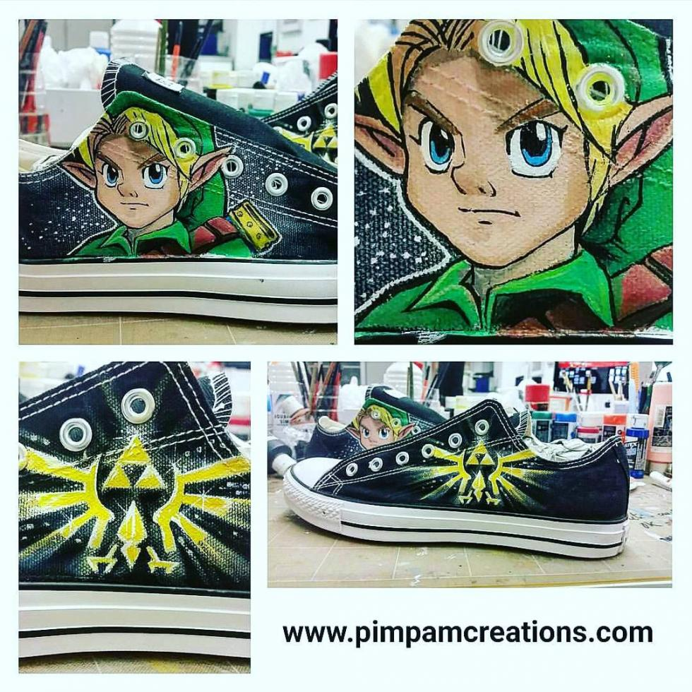 Zapatillas The Legend of Zelda