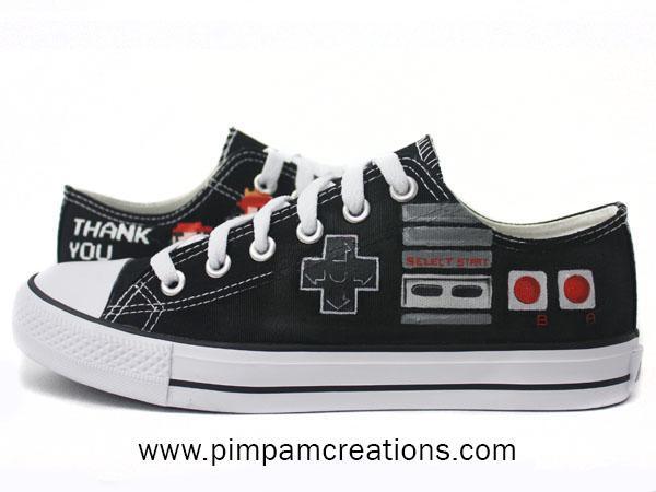 Zapatillas NES/Mario Bros