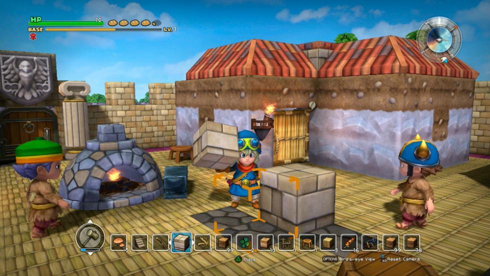 Las mejores nuevas sagas de 2016 - Dragon Quest Builders