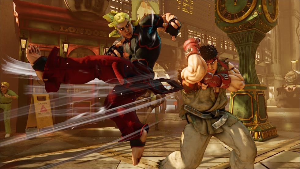 Los mejores juegos de lucha de 2016 - Street Fighter V