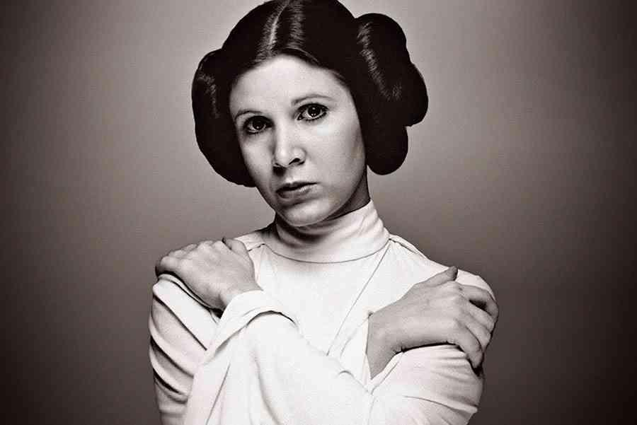 Carrie Fisher interpreto a la Princesa Leia en la saga de Star Wars