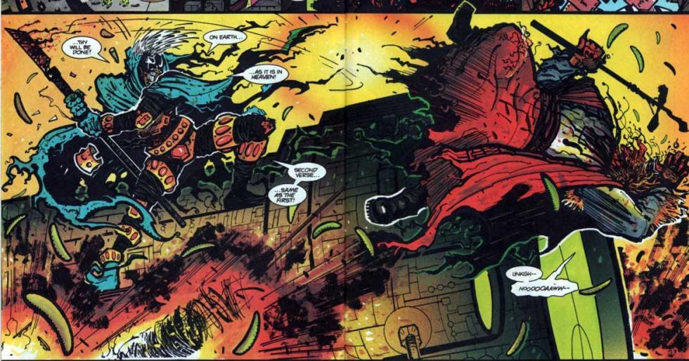 Grendel: El reinado de Orión - Review del volumen 3