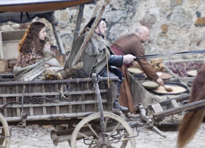 Juego de Tronos - Se filtran imágenes de Sam y Gilly en la séptima temporada