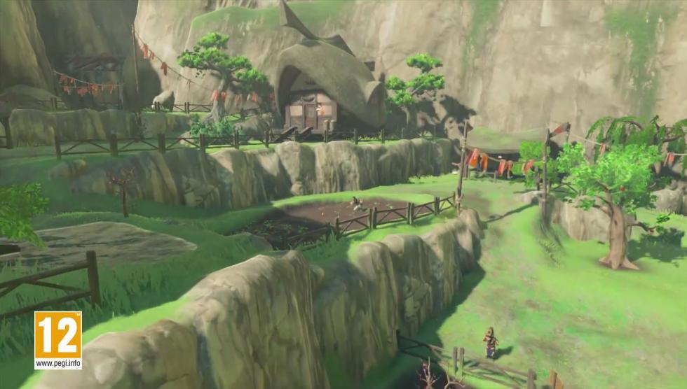 Zelda breath of the wild gameplay para felicitar la for Decorar casa zelda breath