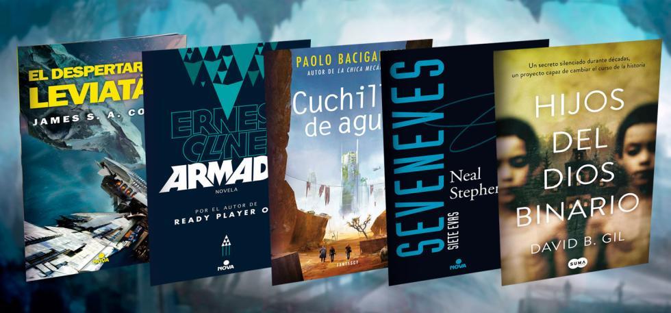 Las mejores novelas de ciencia ficción editadas en 2016