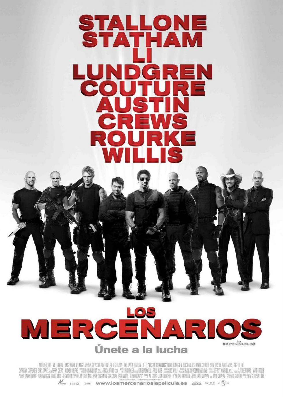 Los mercenarios