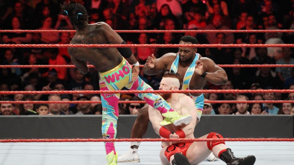 The New Day vs Cesaro y Sheamus vs Luke Gallows y Karl Anderson