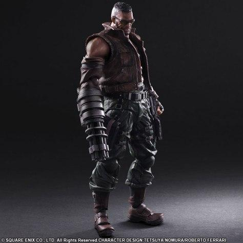 Play Arts Kai Barret Final Fantasy VII Remake